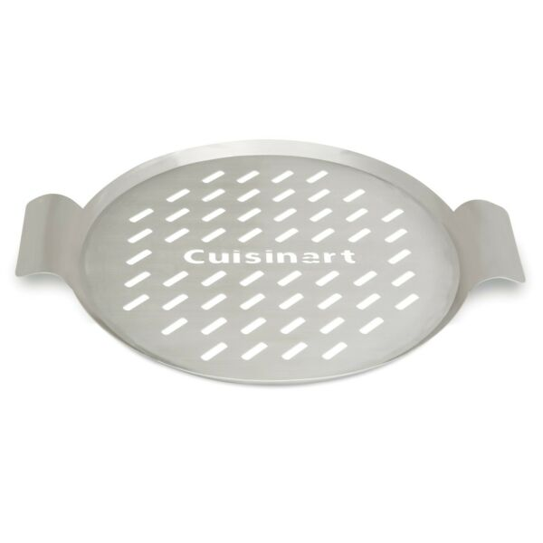 Cuisinart 13quot; Round Grill Topper Great for Pizzas Seafood and Vegetables