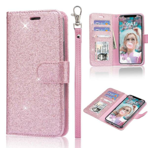 Women#x27;s Wallet amp; Phone Case 2 in 1 Luxury for Apple iPhone 11 XS Max XR 8 7 Plus $12.82