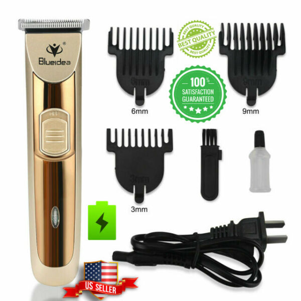 Rechargeable Electric Men Hair Cut Clipper Shaver Trimmer Grooming Beard Razor