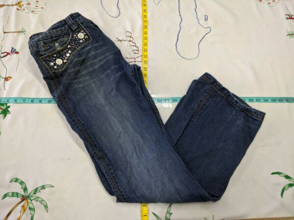 ICE Jeans Size 14 36quot; x 33quot; Embellished $14.69