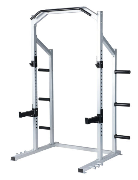 Power Rack Weight Lifting Squat Stand Strength Training Home Gym Power Cage $329.99