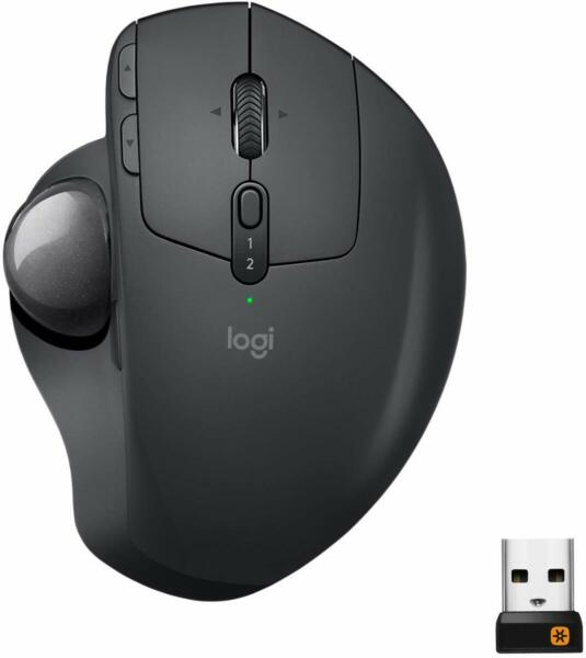 Logitech MX Ergo Wireless Trackball Mouse with Unifying Receiver