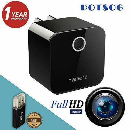 Spy Camera, DOTSOG Upgraded 1080P Portable Hidden Camera Mini Camera HD 1080P/72