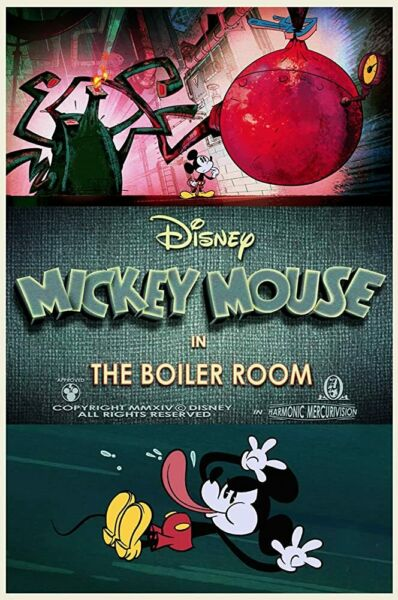 Disney Mickey Mouse In The Boiler Room 0394 Buy Two Get One FREE $15.00