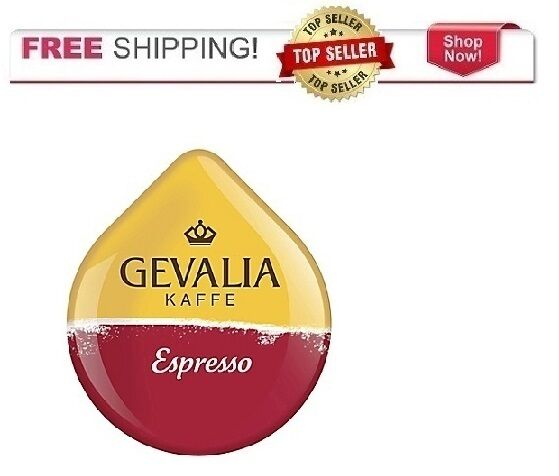 Gevalia 16 Count Espresso Coffee T DISCs for Tassimo Beverage System
