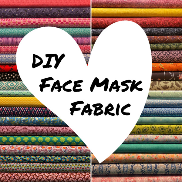 DIY Homemade Face Mask Fabric BUNDLE ~100% High Quality Quilters Cotton