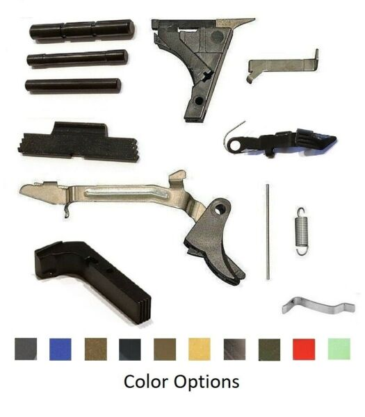 SAO Supply MOD1 Lower Parts Kit Extended Controls For Glock G19 Gen 1 3