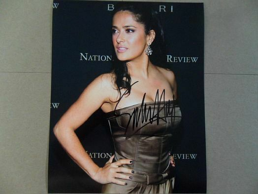 Salma Hayek Signed ~Autographed Photo