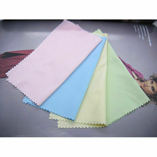 "100pcs Glasses Cleaning Cloth Phone Screen Camera Lens Microfiber Wipe 5"" x5quot; $6.79"