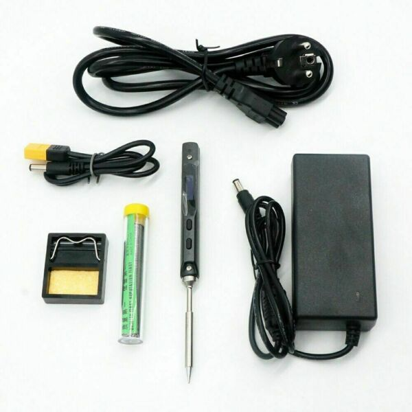 Mini Digital Soldering Iron TS100 B2 BC2 I tip Set & Power Supply & Accessory