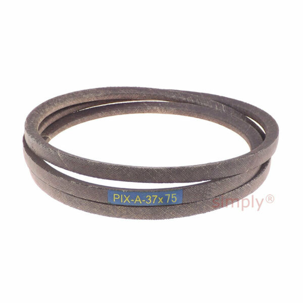 A-37X75 Lawn and Garden Machinery V-Belt Fits Murray