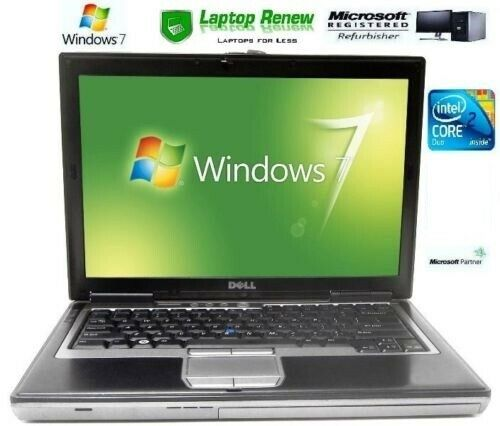 Dell Laptop Duo Windows 7 Pro 1 Year Warranty RS232 Serial Com Port New Battery