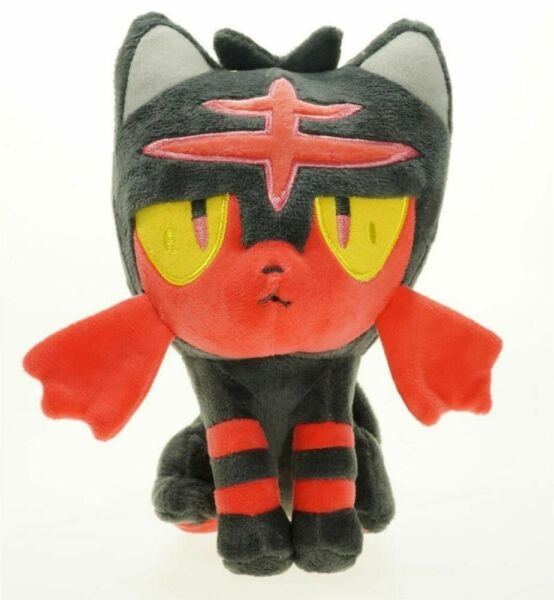 Pokemon Center Cyndaquil Fire Pokedoll Stuffed Animal Plush Doll Toy 6.5