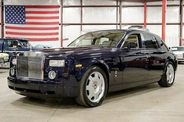 2006 Rolls-Royce Phantom  2006 Rolls-Royce Phantom  24337 Miles Blue Velvet Sedan 6.75L V12 6-Speed Automa