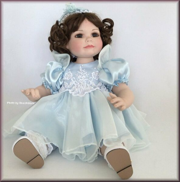 Marie Osmond Dolls Ciarra Toddler Doll Porcelain 12 Inches Free U.S. Shipping