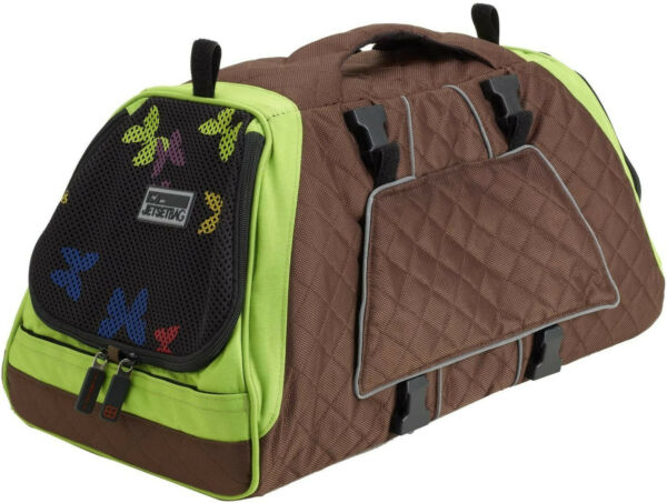dog carriers for small dogs petego Jetset Jet Set Green $90.00
