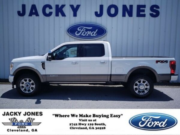 2020 Ford F-250 King Ranch 2020 Ford Super Duty F-250 SRW Star White Metallic Tri-Coat with 10 Miles avail