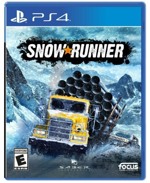 Snow Runner PlayStation (PS4) *BRAND NEW SEALED* Free Shipping