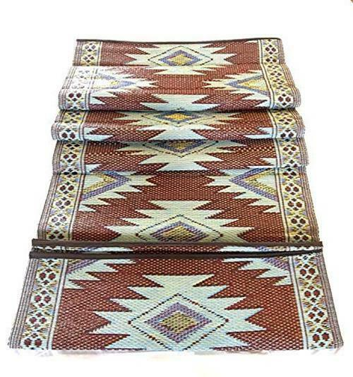 BalajeesUSA 9'x12' Indoor Outdoor Rugs Patio rug RV Assorted Sizes Colors