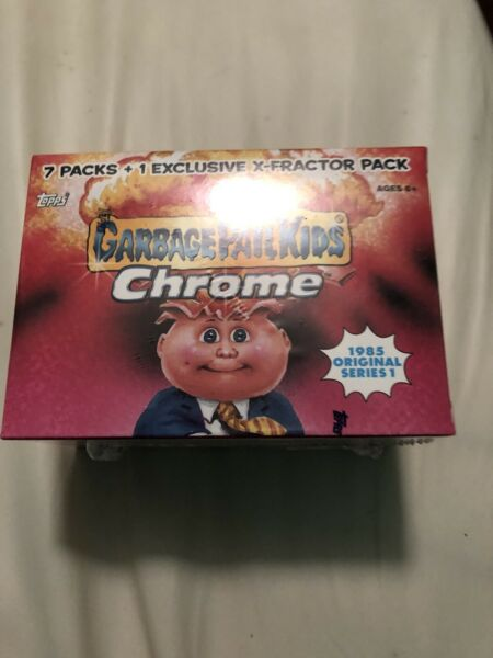 GARBAGE PAIL KIDS CHROME 1 NEWSEALED BOX 2013 Series 1 Blaster Box