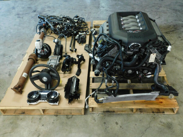 12 2012 Ford Mustang 5.0L Engine Motor 6R80 Auto Trans 109K Mile Take Out V17