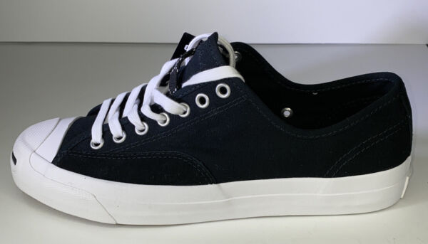 Converse JP Jack Purcell Pro Ox Low Top Obsidian/White Mens 13 Women 14.5 NEW