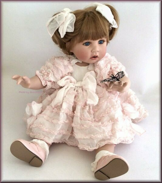 Marie Osmond Little Things Toddler Doll Porcelain 13 Inches Free U.S. Shipping