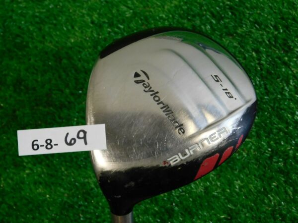 TaylorMade Burner SuperFast 18* Left Hand 5 Wood XCon 4.8 Regular Graphite
