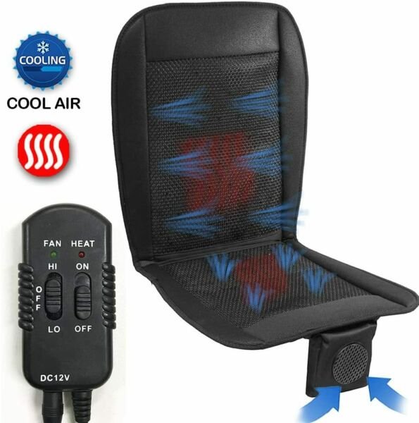 Big Ant Cooling Seat Cushion with Heated,Air Conditioned Seat Cover with Car Fan