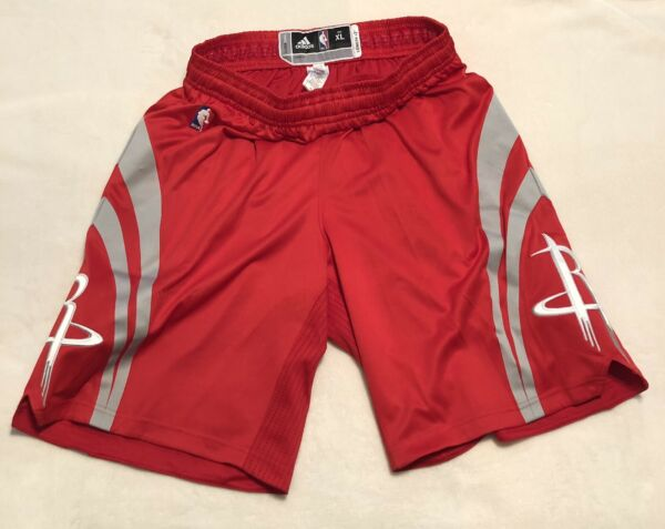Adidas Authentic Houston Rockets NBA ClimaCool Rev30 Shorts XL+2 New