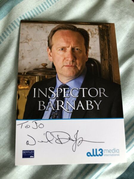 NEIL DUDGEON MIDSOMER MURDERS SIGNED CAST CARD GBP 8.00
