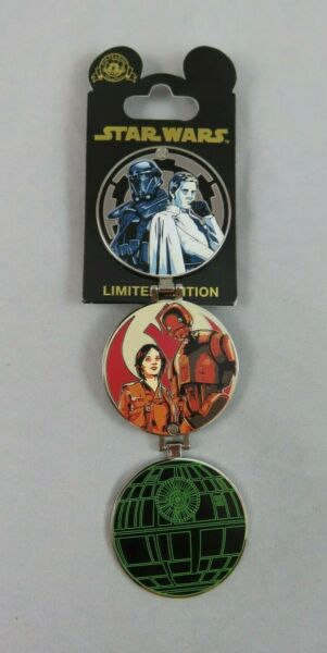 Disney Pin - Star Wars: Rogue One - Double-Hinged Surprise Release - Death Star