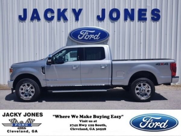 2020 Ford F-250 LARIAT 2020 Ford Super Duty F-250 SRW Iconic Silver Metallic with 4 Miles available no