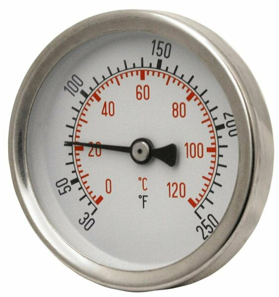 Temperature Gague 1 2 NPT For Outdoor Wood Boilers B259951 2W $24.95