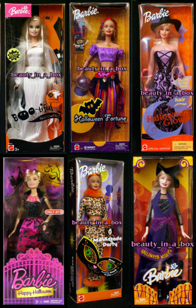 Boo-tiful Barbie Doll Halloween Fortune Teller Glow Wishes Happy Witch