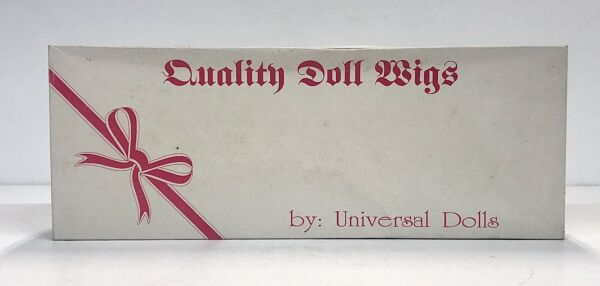 Quality Doll Wigs By Universal Dolls Elise Size 13-14 Auburn NEW (Old Stock)