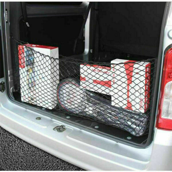 Car Accessories Rear Cargo Organizer Storage Elastic String Net Pocket Trunk $12.95