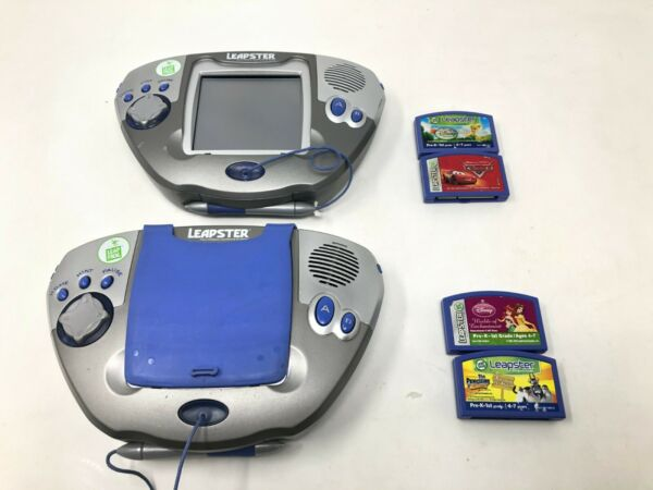 Leap Frog Leapster Handheld System Lot w Games $40.72