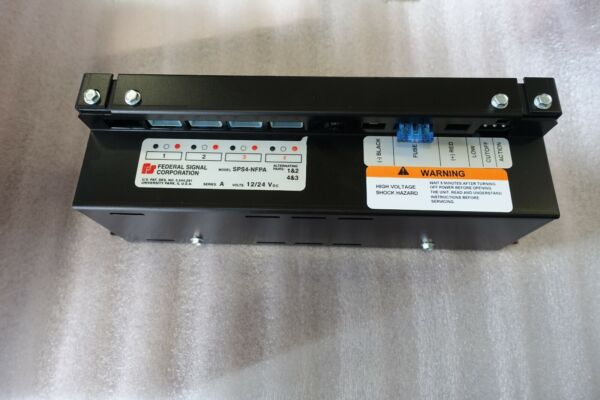 Federal Signal Strobe Power Supply SPS4 NFPA