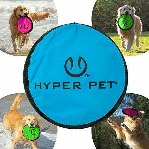 Flippy Flopper Dog Frisbee Interactive Flying Disc Fetch Toy 9 inches diameter $11.03