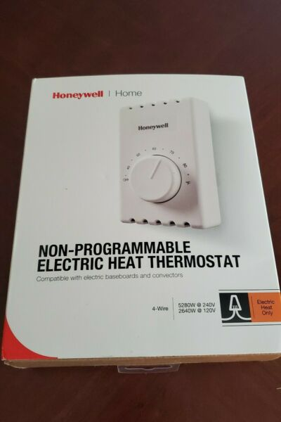 Honeywell Thermostat home non programmable electric heat thermostat NIB* $11.73