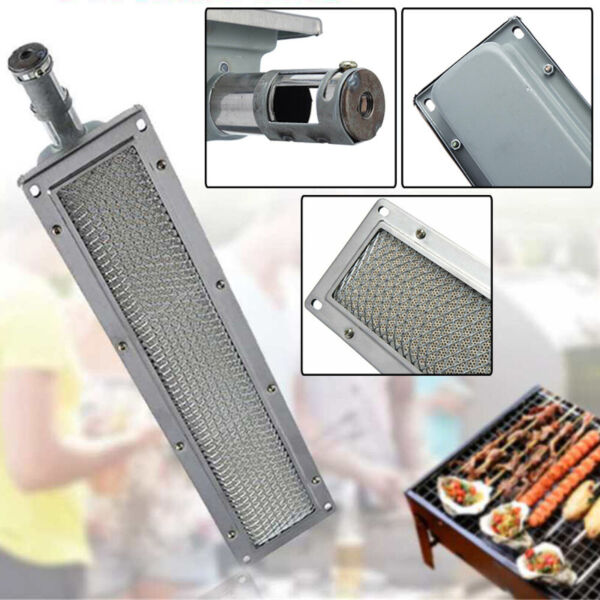 BBQ Infrared Ceramic Burner Stainlesssteel Ceramics Gas Burner Universal Heater