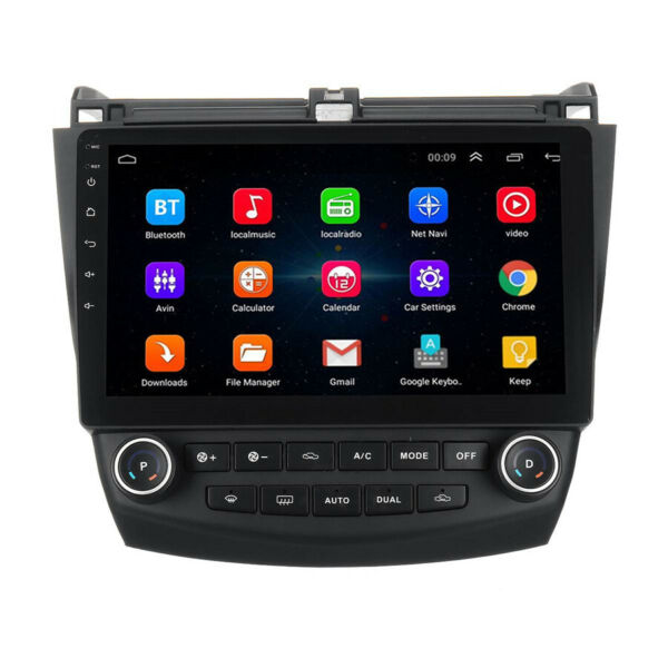 For Honda Accord 2003 2007 10.1quot; Android 9.1 Stereo Car Radio GPS MP5 Player NEW