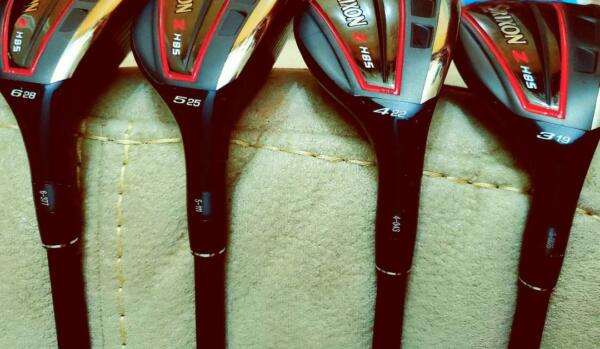 Srixon Tour Issue H85 Hybrids 3456 Tour Lofts Only! Tour Serials Stiff Flex