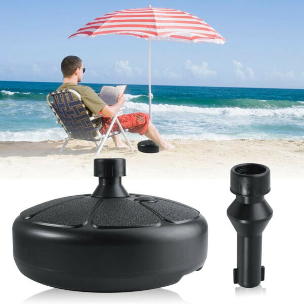 15'' Umbrella Base Stand Market Patio Yard Outdoor Living Heavy Duty Round USA