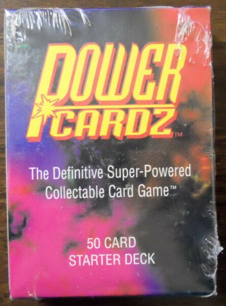 2 Decks Factory Sealed Spawn Power Cardz Game 50 Card Starter Skyverse 1995 NEW