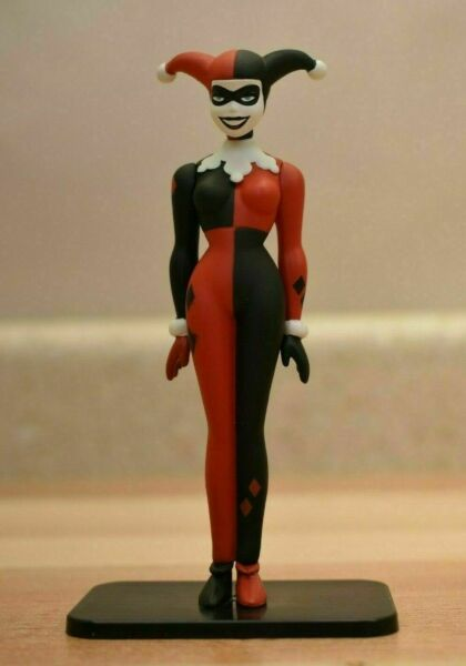 DC 4quot; HARLEY QUINN Figure from Batman and Harley Best Buy Exclusive Blu Ray J4