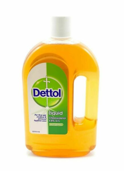 Dettol Liquid First Aid Antiseptic 25 oz 750 ml.Made in the U.K.