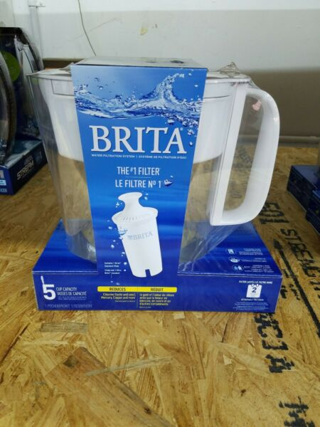 Brand New Brita 5 Cup Metro Water Pitcher with Filter White