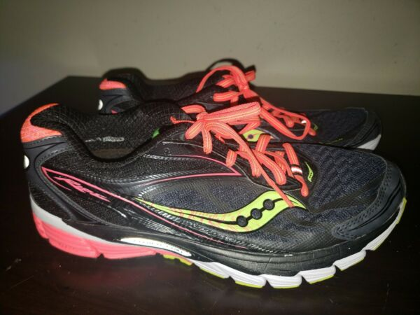 Saucony Ride 8 Athletic Running Shoes Womens Sz 9 M Power Grid 8mm Offset